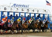 Aquduct starting gate